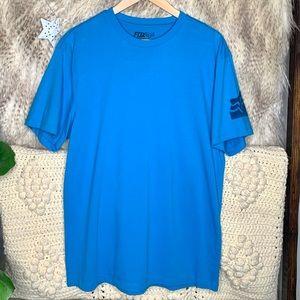 Fox Blue Short Sleeve T-Shirt